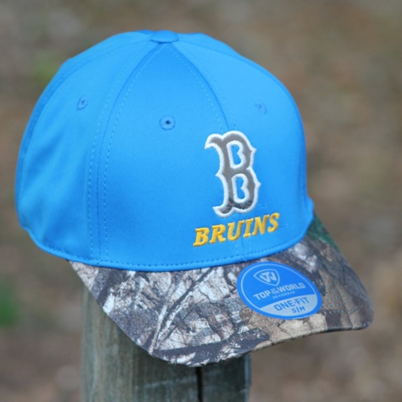 huge discount 80c28 aa903 UCLA Bruins Camo Stretch One Fit Cap Hat S M. NWT. Top of the World